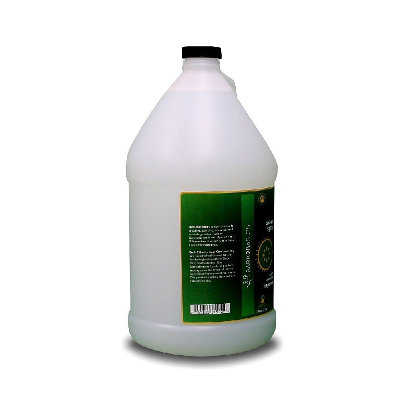 Bark 2 Basics Anti-Stat Spray Gallon-Groomer's Choice